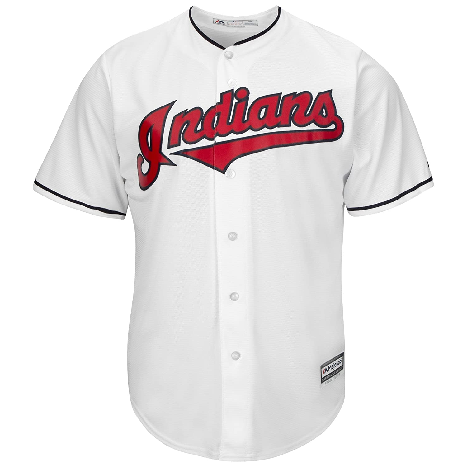 18971cfa5 Amazon.com : Majestic Michael Brantley Cleveland Indians #23 Youth Cool  Base Home Jersey White : Sports & Outdoors
