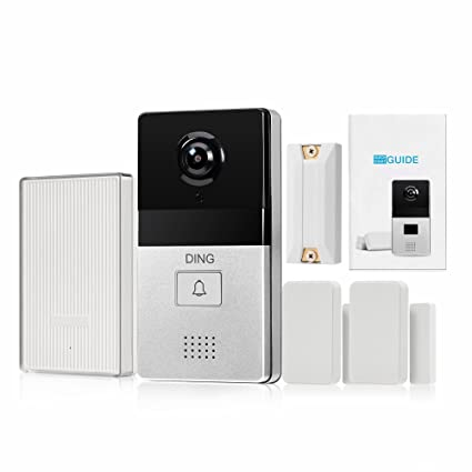 DING WiFi Video Doorbell & 6-Month Free Cloud Service - Smart Home Hub and WiFi Extender