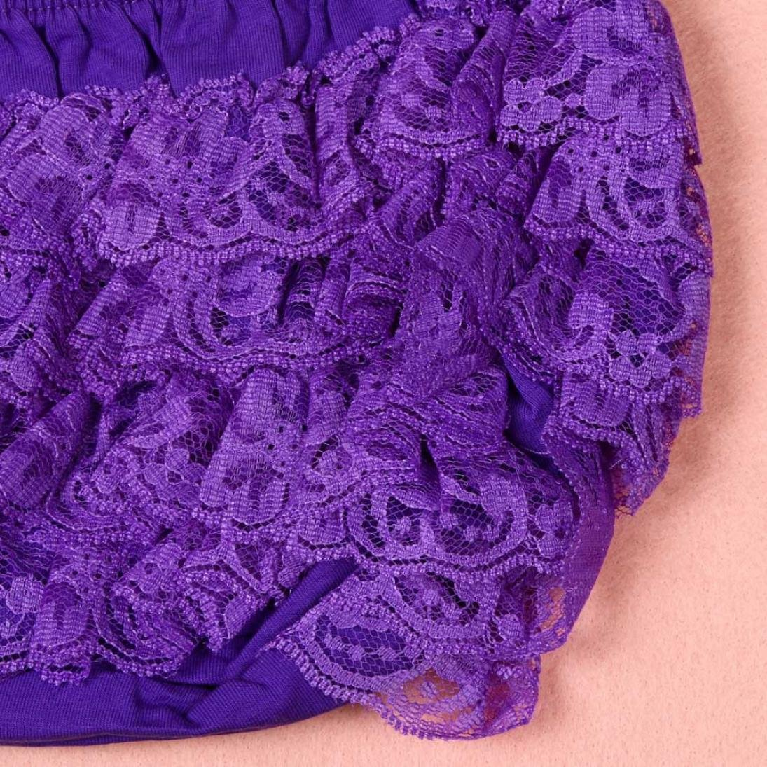 Toddler Baby Infant Lovely Lace Ruffle Bloomer PP Nappy Panty Diaper Cover Birthday Party Underwear SHOBDW Girls Shorts
