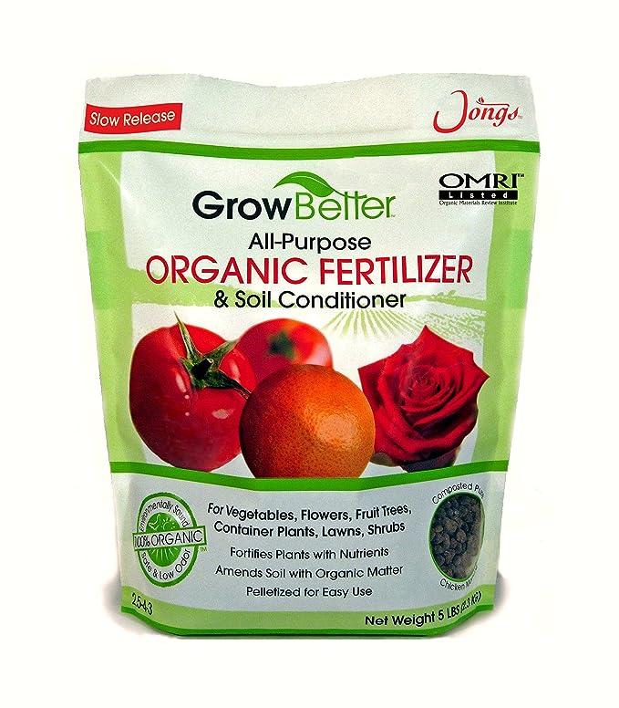 Organic All-Purpose Fertilizer and Soil Conditioner (5lb)