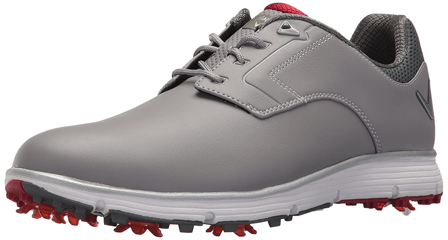 Callaway Men's Lajolla Golf Shoe B074L7L9BY 9.5 D D US|Grey/Red