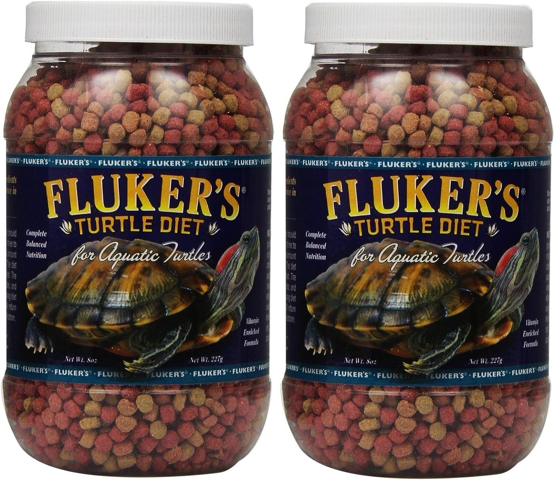 Fluker's Aquatic Turtle Diet (2 Pack / 8-Ounce)