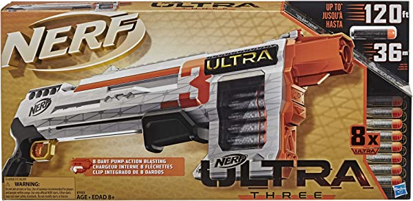 Nerf Ultra 3 Blaster toy for kids in package