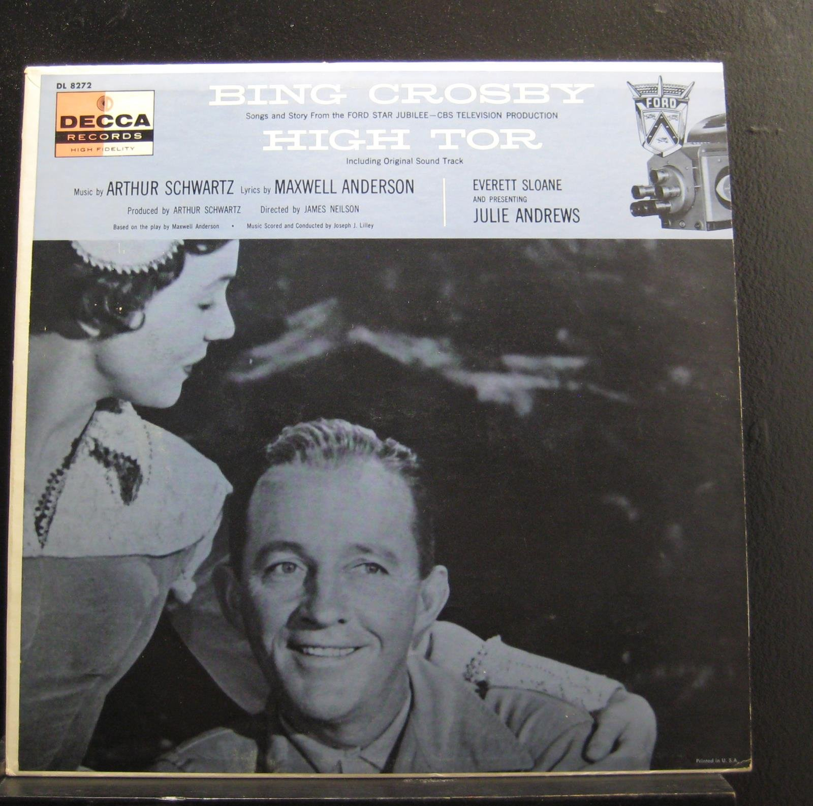 BING CROSBY ORIGINAL SOUNDTRACK HIGH TOR 1956