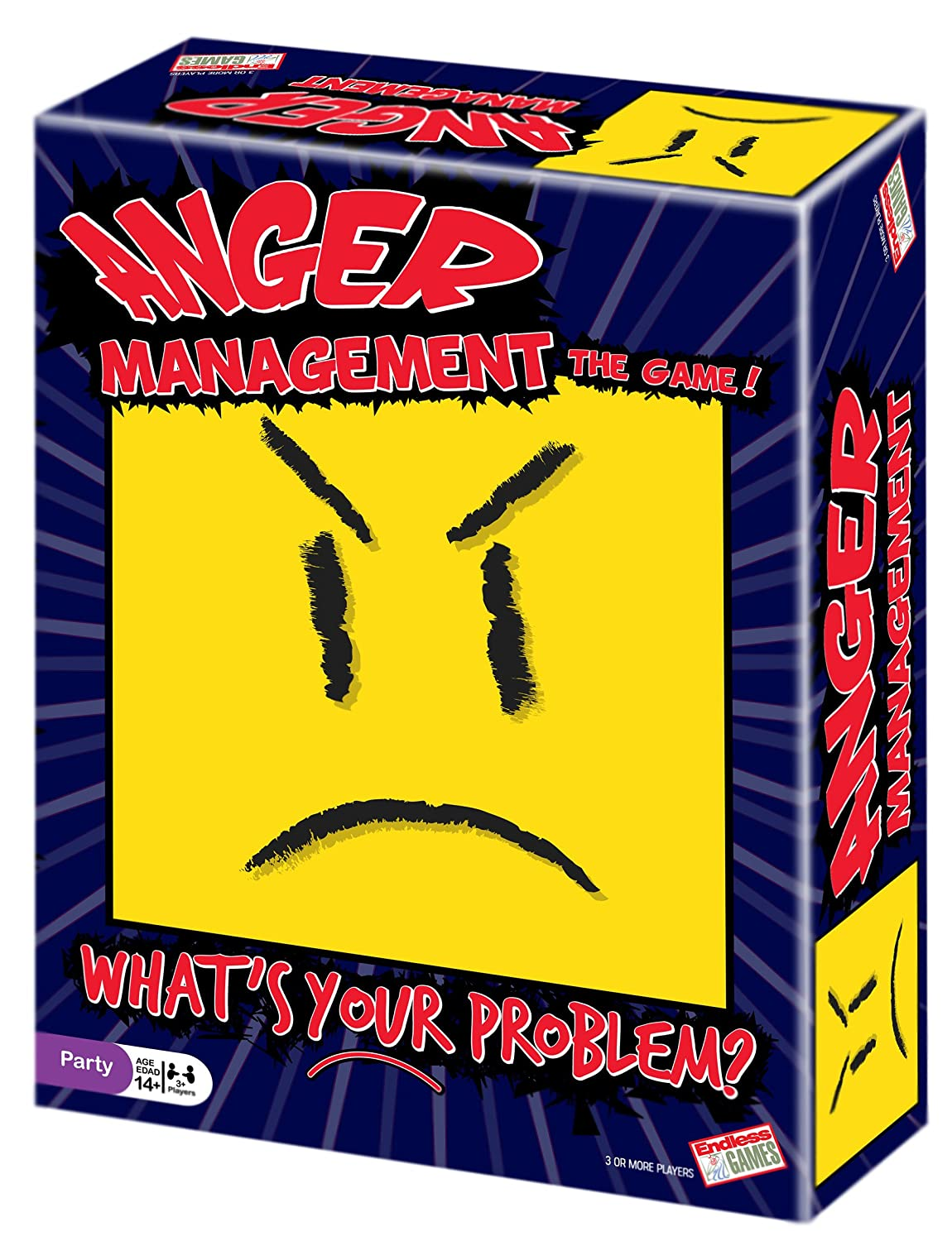 Anger Management Party Game Endless Games 160