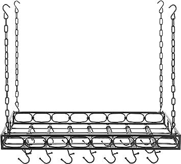 Set of 4 Old Dutch International Metal Pot Rack Hooks in Pewter NEW