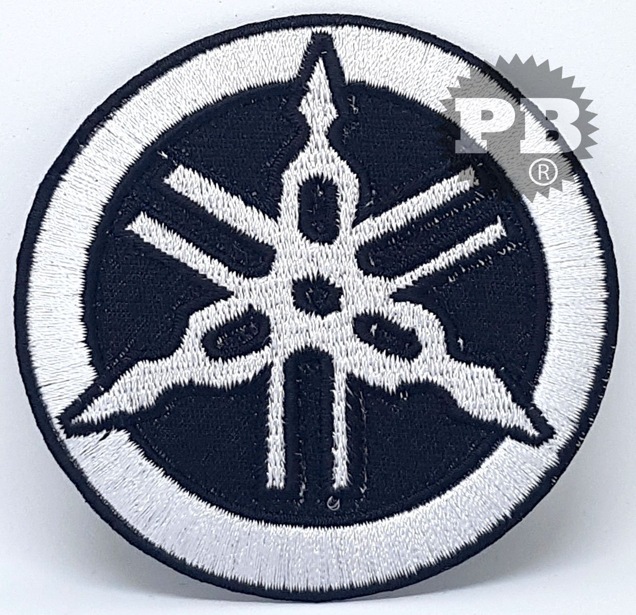 motif YAMAHA Tuning Motorcycle Classic Racing #421 Patch brod/é /à coudre
