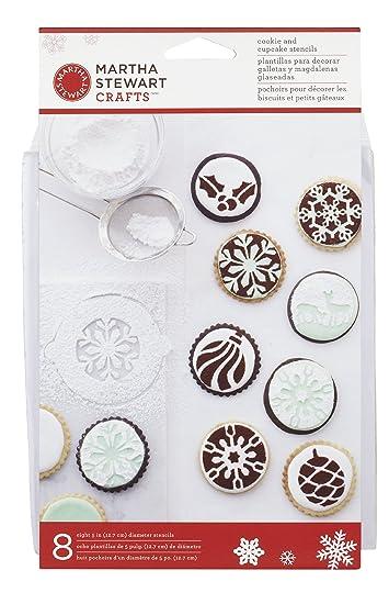 Wilton Marken Inc Martha Stewart Holiday Cupcake Cookie Schablonen ...
