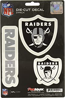 product image for NFL Oakland Raiders Team Decal, 3-Pack