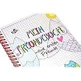 Mein Freundebuch DIN A5 Eule Poesiealben Kindergarten Schule meine ersten Freunde