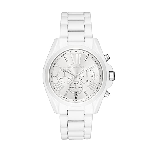 93b0f7cc86732 Michael Kors Womens Chronograph Quartz Watch with Stainless Steel Strap  MK6585  Amazon.co.uk  Watches