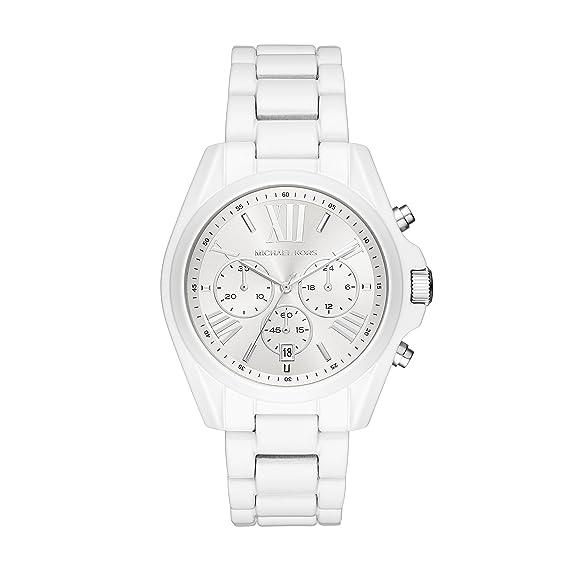 Michael Kors Reloj Cronógrafo para Mujer de Cuarzo con Correa en Acero Inoxidable MK6585