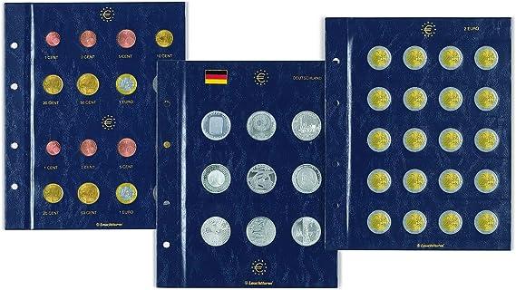 Leuchtturm 303296 Hojas para Monedas Vista, conmemorativas de 2 Euros Contratos Romanos: Amazon.es: Juguetes y juegos