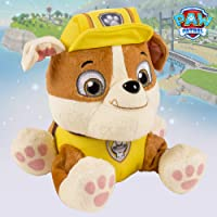 Paw Patrol Basic Plush Rubble Soft Toys for Kids, Age 3 Years and Above