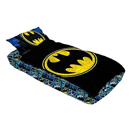 Warner Bros. my0048 Batman cerca ramo de Gotham justicia Zip-It ropa de cama