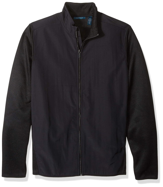 Perry Ellis Mens Big and Tall Lightweight Stretch Fleece Jacket