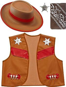 WIDMANN Set Disfraz de Sheriff Infantil T-U Infantil: Amazon.es ...