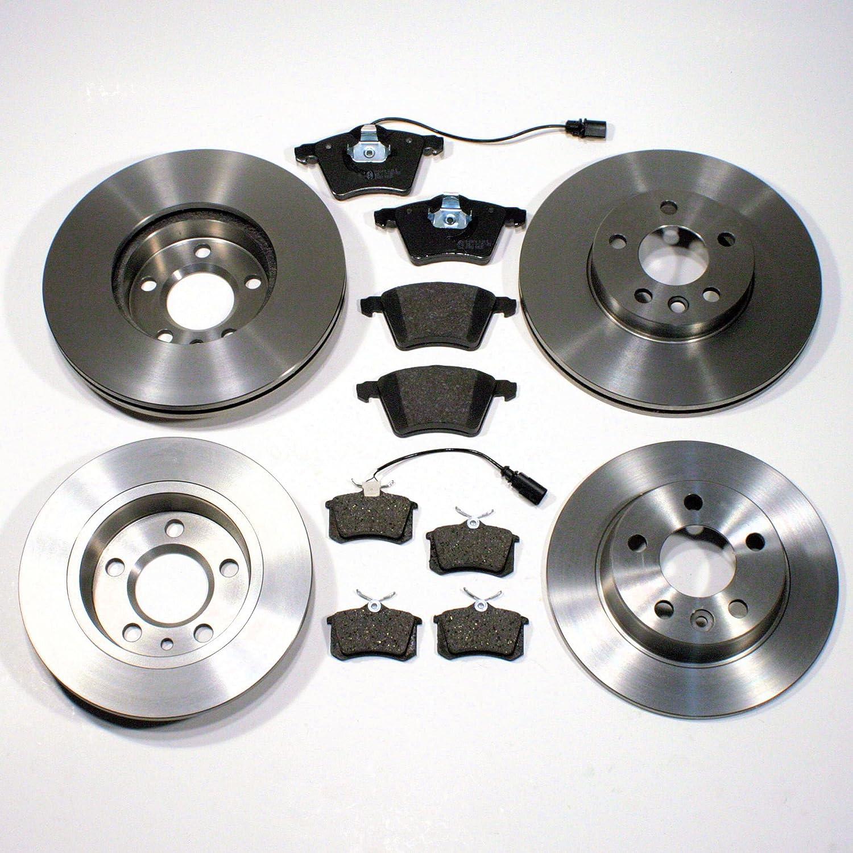 hinten Bremsscheiben//Bremsen Set Bremsbel/äge f/ür vorne