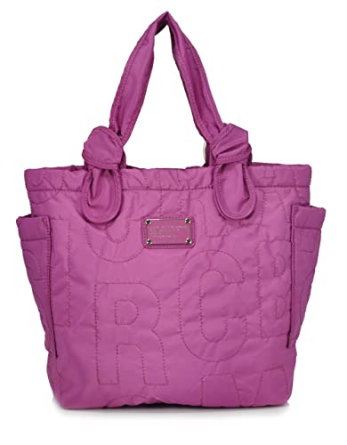e6868150adaae Amazon.com  Marc By Marc Jacobs Medium Amethyst Pretty Nylon Lil Tate  Shoulder Tote  Shoes