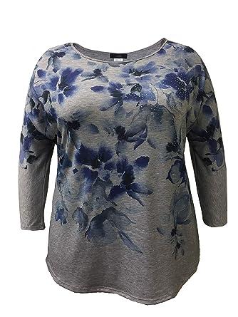 Leebe Plus Size 3 4 Sleeve Print Top 1x 5x At Amazon Women S