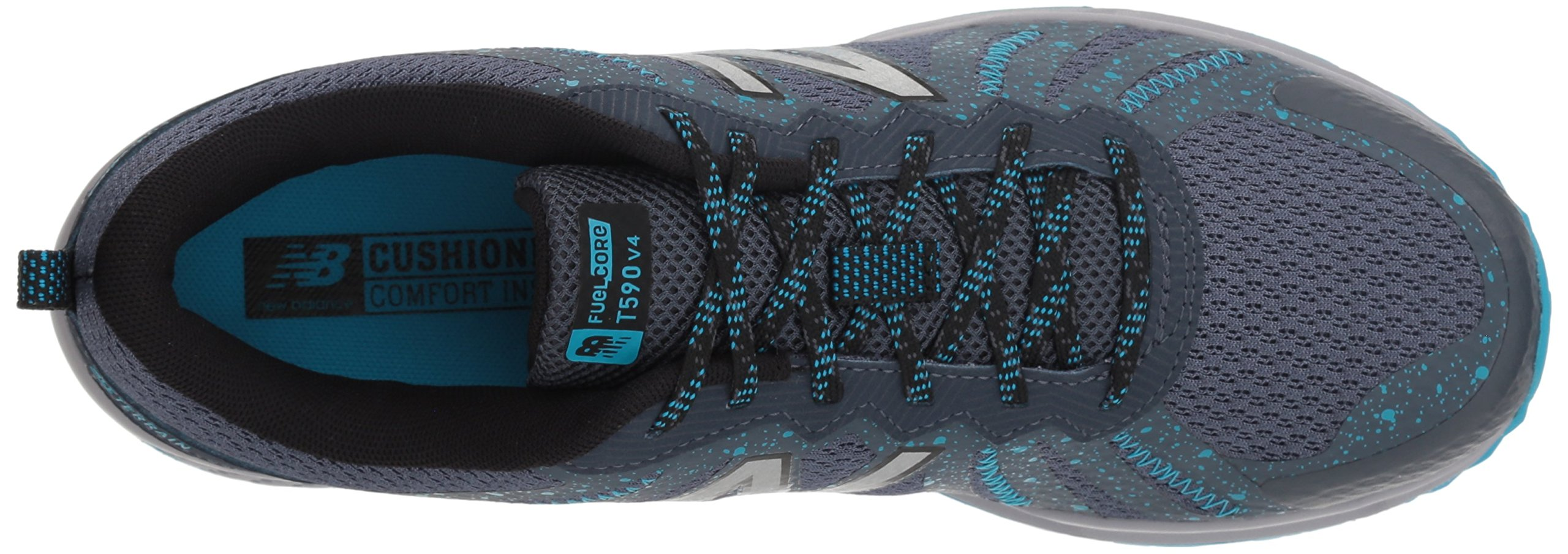 New Balance Women's 590v4 FuelCore Trail Running Shoe Dark Grey 6 D US by New Balance (Image #7)