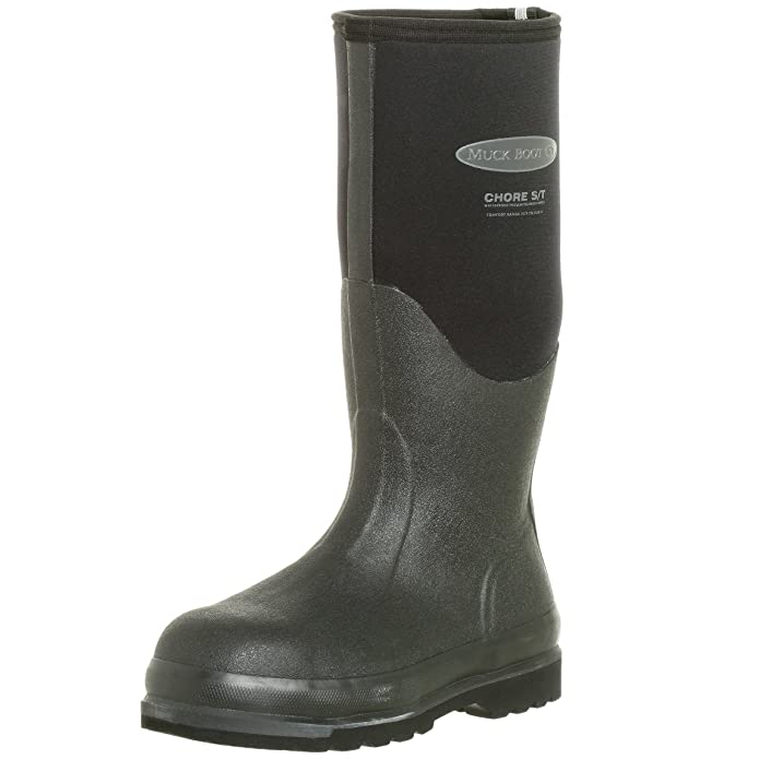 Muck Steel Toe Rubber Boots