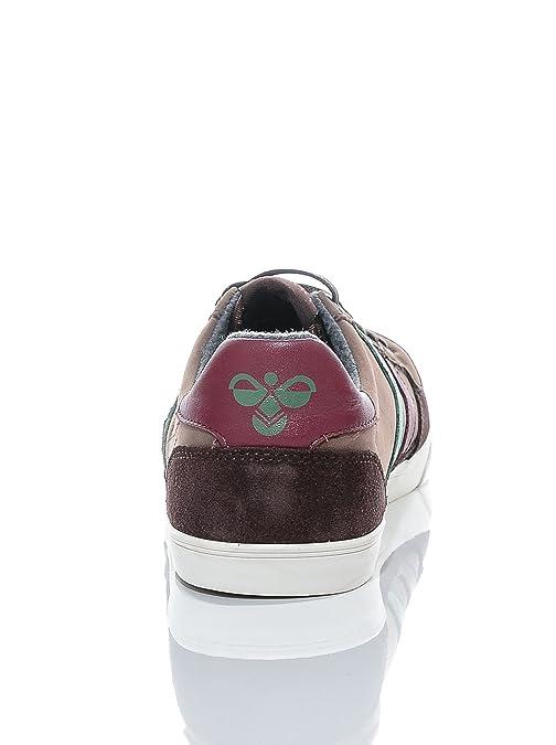 Hummel Schuhe Ten Star Oiled Low 63-228-8362 Chestnut Tawney Port Comfrey Braun