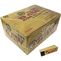 Raw - Filtros de Cartón para Fumar (50