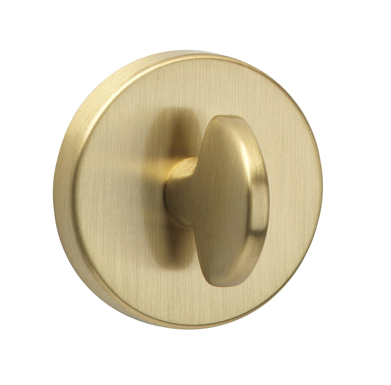 Urfic 18-398-02 17 x 14 x 7 cm acabado lat/ón cepillado Cerrojo para puerta