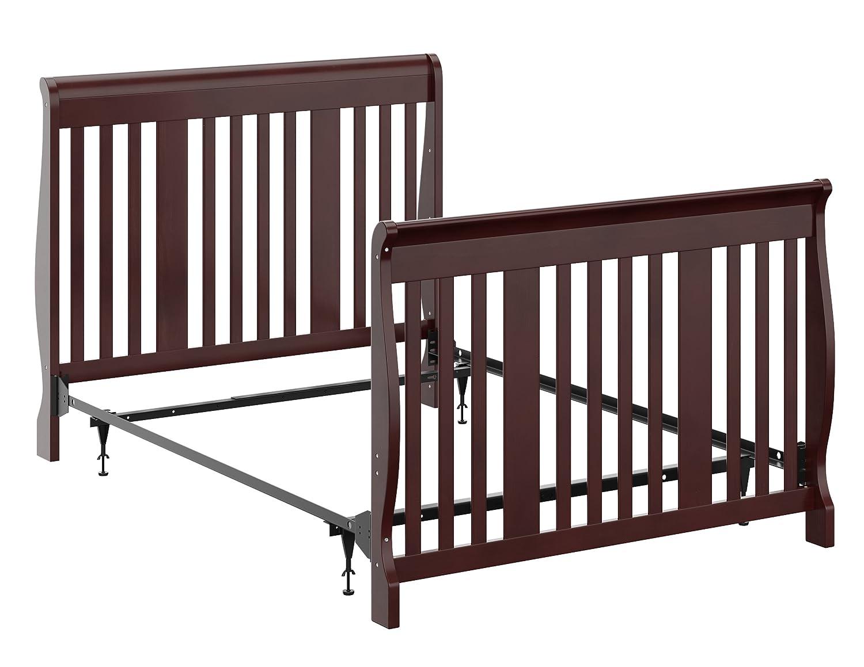 Amazon.com: Storkcraft Full Size Metal Bed Frame Crib Conversion Kit ...