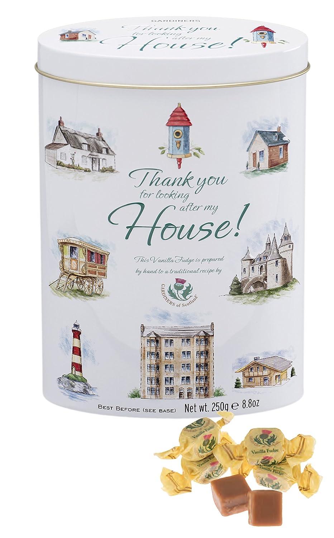 Gardiners of Scotland Vanilla Fudge Thank You Tins, Home, 8.8 Ounce