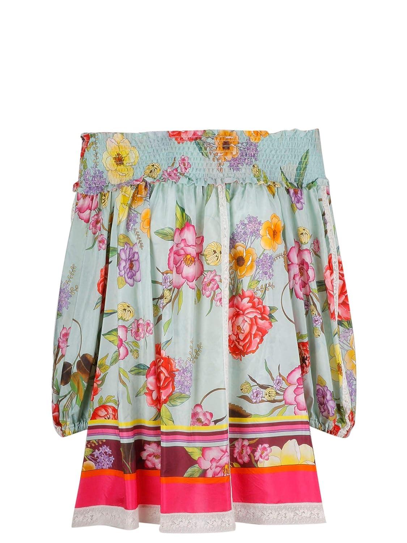 P.A.R.O.S.H. Women's D311089851 Multicolor Silk Blouse