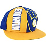 Amazon.com   NBA Milwaukee Bucks Green Red 2 Tone Retro Snapback Cap ... 1da86aa660e8