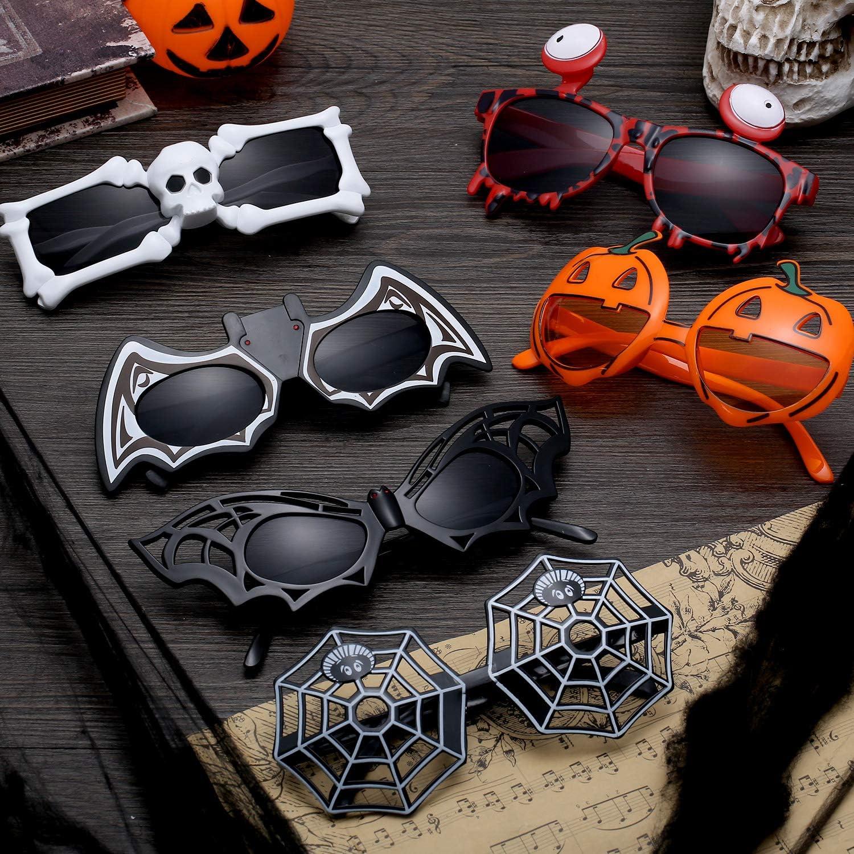 Halloween Brille Fledermaus Party Spaß Fasching schwarz