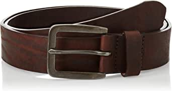 Jack & Jones Jacvictor Leather Belt Noos Cinturón para Hombre