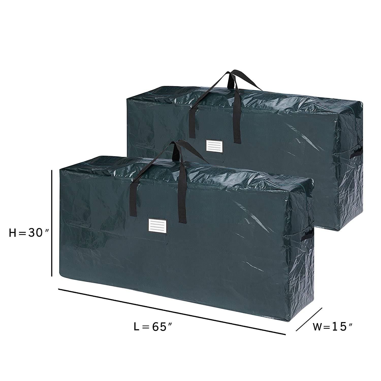 Amazon.com  Elf Stor 83-DT5541 5098 Premium Christmas Bag Holiday Extra  Large for up to 9 Ft Tree 6da77b782600c