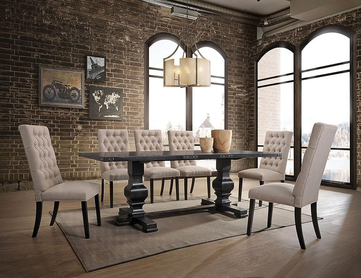 ACME FurnitureMorland Dining Table, Vintage Black