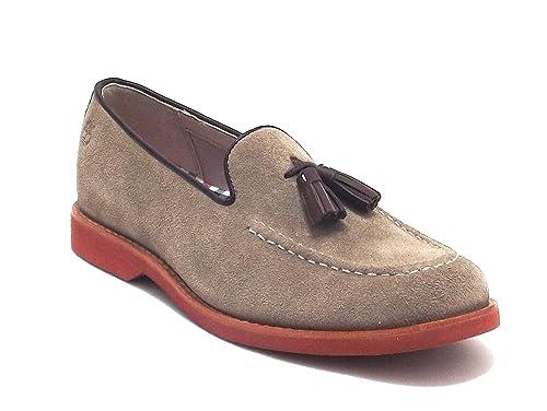 Timberland - Mocasines para hombre Beige Beige 43: Amazon.es: Zapatos y complementos