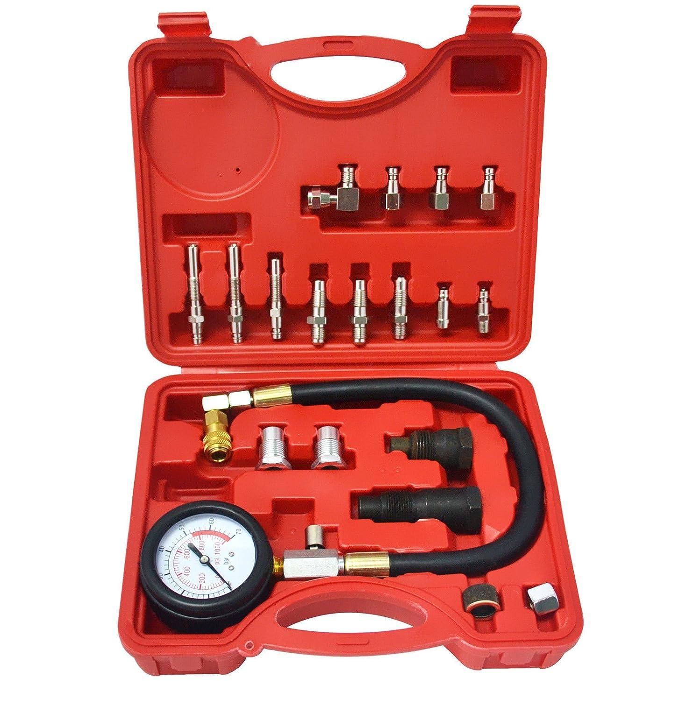 LINGJUN Testeur de Compression Diesel TDI/CDI Voiture/Camion Jauge de Compression (20 Piè ces)