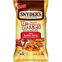Snyder's Of Hanover Hot Buffalo Wings Pretzel Pieces, 12 Ounce by Snyder's of Hanover