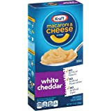 Kraft Macaroni & Cheese Dinner, White Cheddar, 7.3 Ounce (Pack of 8)