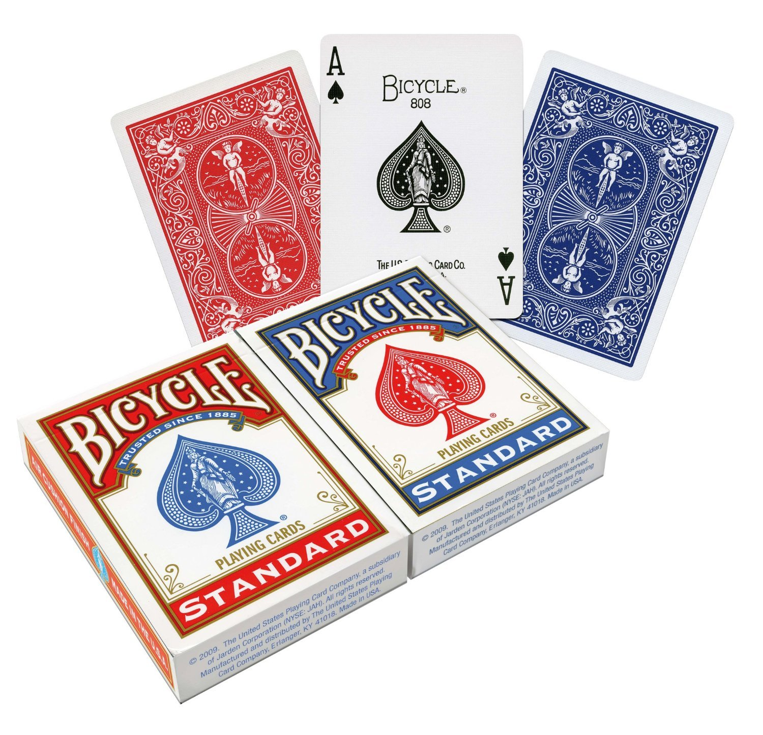This is an image of a deck of cards