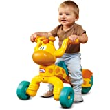 Little Tikes Go and Grow Lil' Rollin' Giraffe, Ride on Giraffe Toddler Bike for Boys and Girls - 3 Wheel Ride on Toys for Chi