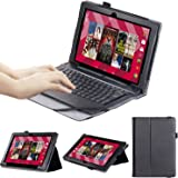 "KuRoKo Smartab with WiFi 10.1"" 2-in-1 Touchscree ST1009X Tablet Case (Black)"