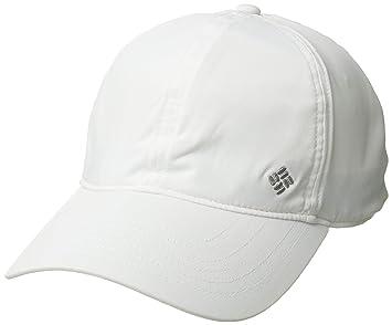 Columbia Gorra de béisbol unisex, Coolhead II Ball Cap, Poliéster, Blanco (White), Talla: O/S, 1840001: Amazon.es: Deportes y aire libre