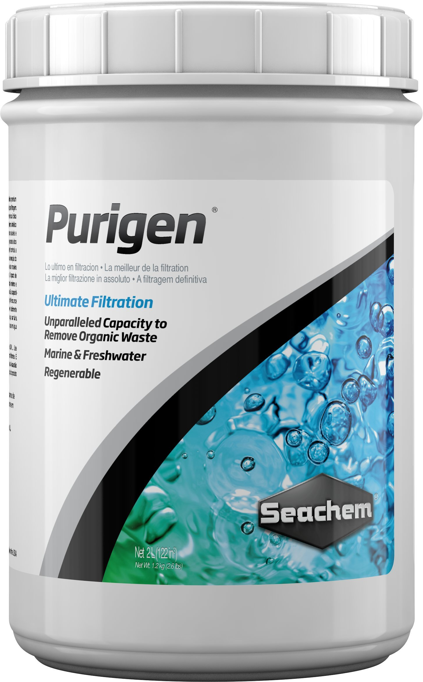 Purigen, 2 L / 67.6 oz. by Seachem