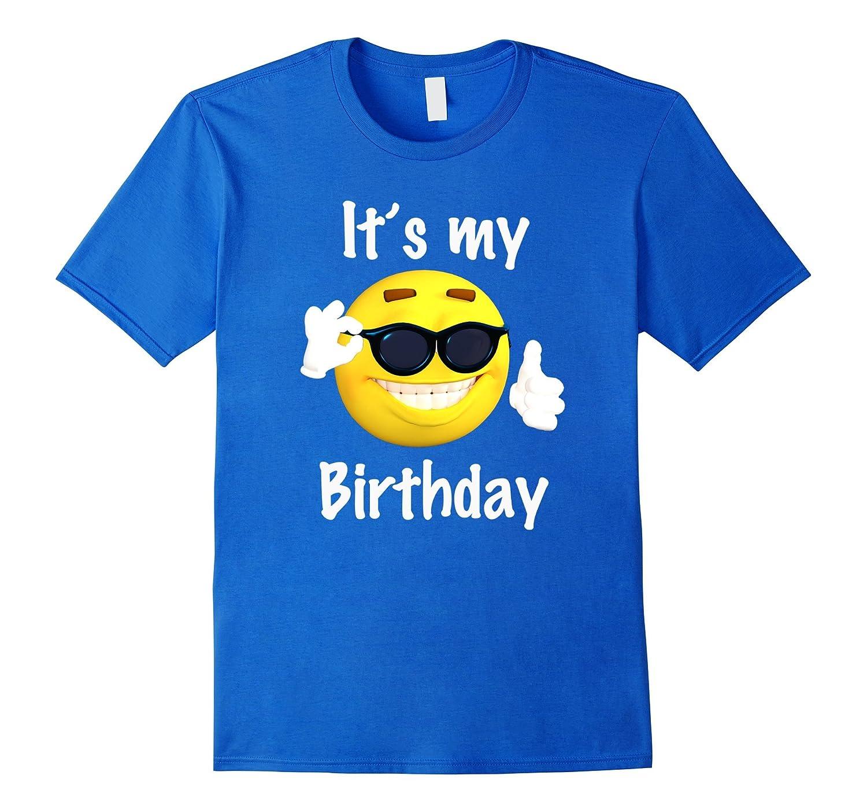 Its My Birthday Emoji T Shirt Boys And Girls Funny ANZ