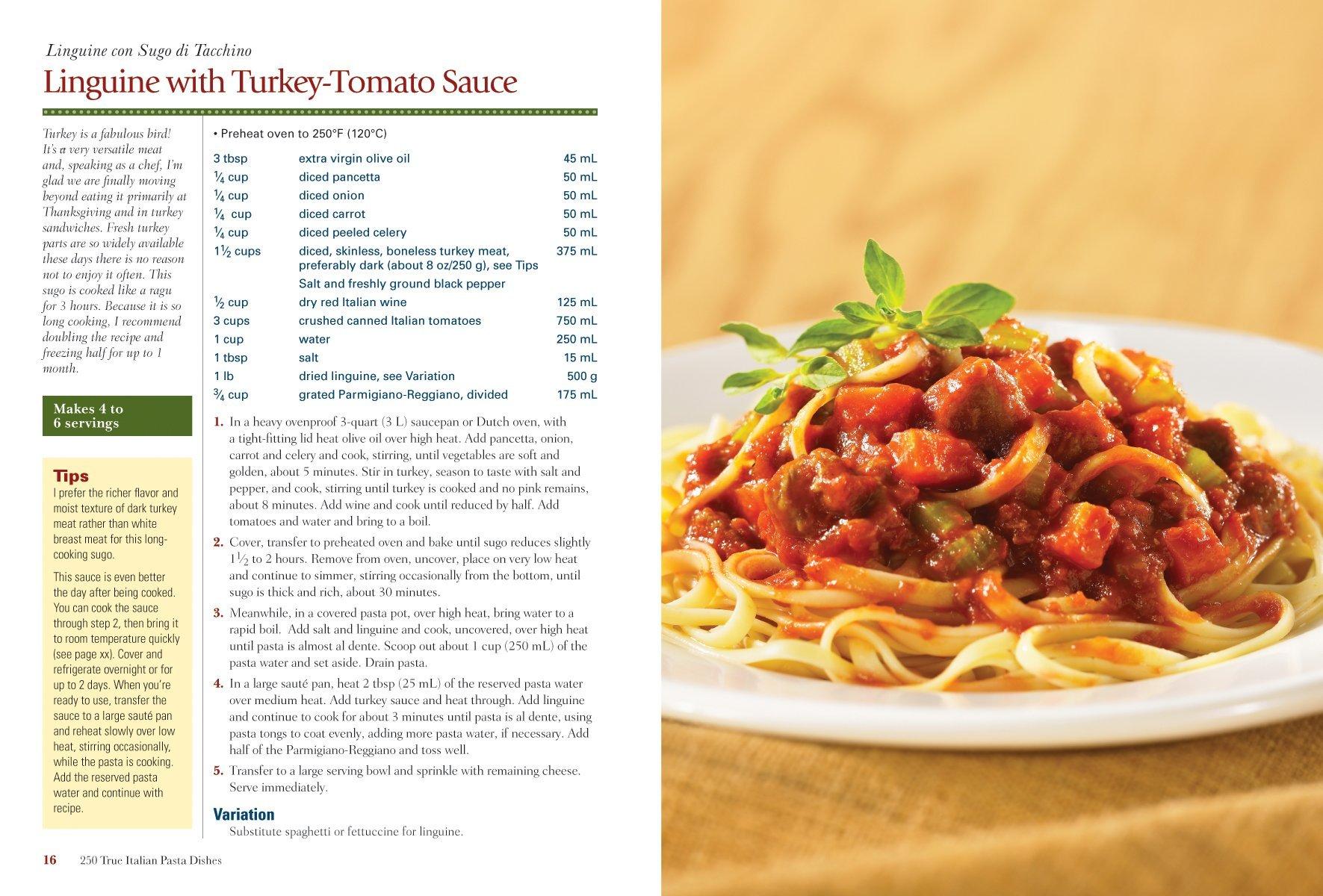 250 True Italian Pasta Dishes: Easy and Authentic Recipes: John ...