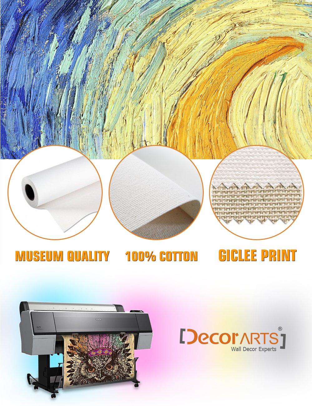 Amazon.com: DECORARTS Canvas Prints Wall Art - Eagle owl in an ...