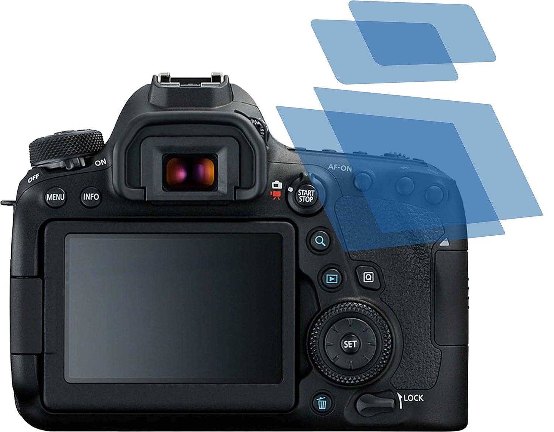 2x Displayschutzfolie Matt für Canon EOS 6D Schutzfolie Displayfolie Folie